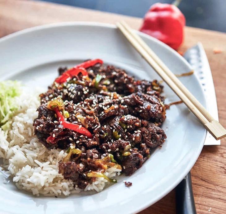 entrecote asiatisk recept